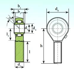 ISB TSM 40 RB Rodamientos De Rodillos Esféricos