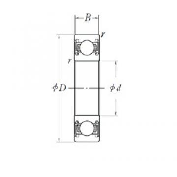 15,875 mm x 35 mm x 11 mm  SKF 6202/15,875-2RSH/GJN Cojinetes de bolas profundas