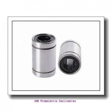 22 mm x 50 mm x 22 mm  NMB RBM22E Rodamientos Deslizantes