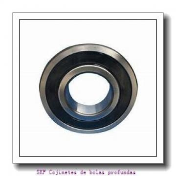6,35 mm x 9,525 mm x 10,719 mm  SKF D/W R168 R-2ZS Cojinetes de bolas profundas
