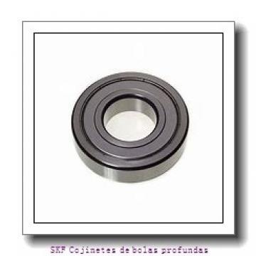 5 mm x 9 mm x 3 mm  SKF W637/5X-2ZS Cojinetes de bolas profundas