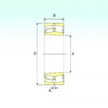 340 mm x 460 mm x 90 mm  ISB 23968 K Rodamientos De Rodillos Esféricos