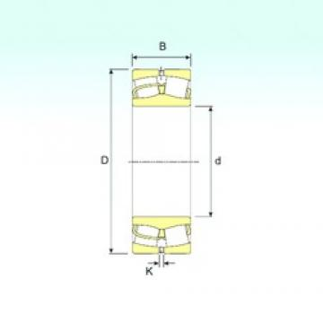 340 mm x 520 mm x 133 mm  ISB 23068 Rodamientos De Rodillos Esféricos