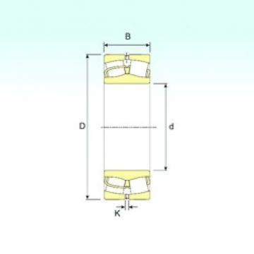 950 mm x 1360 mm x 412 mm  ISB 240/950 Rodamientos De Rodillos Esféricos