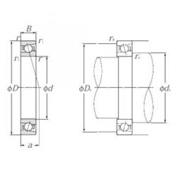 90 mm x 125 mm x 18 mm  NTN 5S-HSB918C Cojinetes De Bola De Contacto Angular