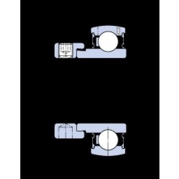 35 mm x 72 mm x 25.4 mm  SKF E2.YET 207 Cojinetes de bolas profundas