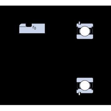 17 mm x 47 mm x 14 mm  SKF 6303-2ZNR Cojinetes de bolas profundas