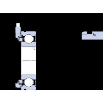 15 mm x 35 mm x 11 mm  SKF BMB-6202/032S2/UB008A Cojinetes de bolas profundas