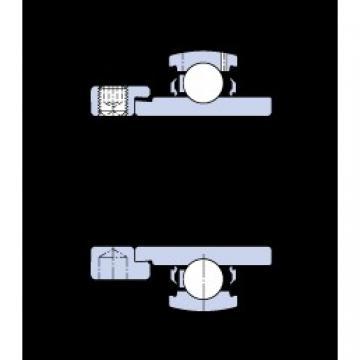 20 mm x 47 mm x 34.2 mm  SKF YEL 204-2F Cojinetes de bolas profundas