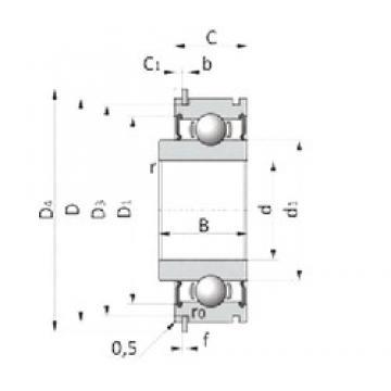 27 mm x 65 mm x 19 mm  SKF BB1-3251C Cojinetes de bolas profundas