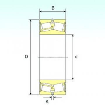 100 mm x 180 mm x 55 mm  ISB 22220-2RS Rodamientos De Rodillos Esféricos