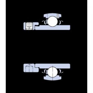 25 mm x 52 mm x 34.9 mm  SKF YEL 205-2RF/VL065 Cojinetes de bolas profundas